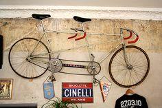 Old Cinelli single speed tandem