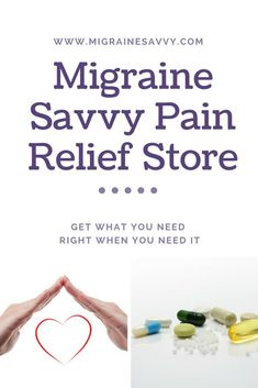 The Pain Relief Store: How to Manage Your Attacks Better Get everything you need all in one spot. The Migraine Savvy Pain Relief Store has tips and tools for instant pain relief and long-term comfort aids. Don't wait to stop an attack. Act asap. Migraine Pain, Chronic Migraines, Migraine Relief, Chronic Pain, Migraine Doctor, Chronic Illness, Fibromyalgia, Migraine Triggers, Migraine Diet