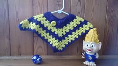 Sweet Baby Poncho - Size 3-6 mos by LittleLuvCrochet on Etsy