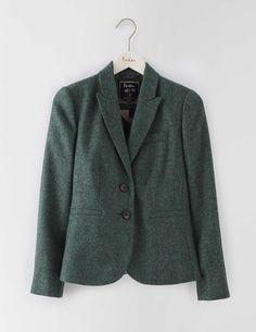 Elizabeth British Tweed Blazer WE551 Blazers at Boden - love the color