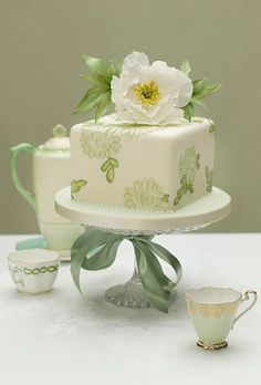 Wedding Worthy One Tier Cakes | Wedding Ideas | Brides.com