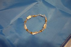 Lovely crystal and mother of pearl bracelet £8.00