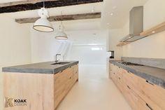 Ikea Kitchens with wooden doors from Koak Design                              …