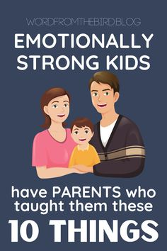 How to raise a mentally and emotionally strong child. Here are 10 teachable moments to improve your child's emotional strength. Parenting Advice, Kids And Parenting, Parenting Quotes, Strong Willed Child, Emotional Strength, Mentally Strong, Raising Kids, Our Kids, Parents