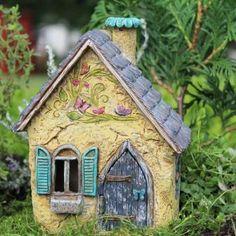 Fairy Garden Miniature House Brookside Cottage $31.99