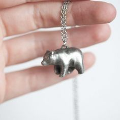 Handmade Gifts | Independent Design | Vintage Goods Bear Necklace - Jewelry - Girls