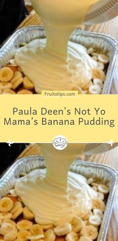 Paula Deen's Not Yo Mama's Banana Pudding Ingredients: 2 bags pepperidge farm chessmen cookies or 2 bags vanilla wafers 6 to 8 bananas, sliced 2 cups whole milk 1 oz. Vanilla Wafer Dessert, Vanilla Wafer Banana Pudding, Magnolia Bakery Banana Pudding, No Bake Banana Pudding, Banana Pudding Desserts, Köstliche Desserts, Banana Recipes, Delicious Desserts, Yummy Food