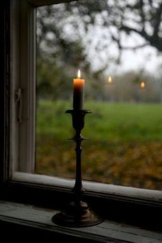 Allways keep a lit candle in the window at night to welcome someone home again…. Allways keep a lit candle in the window at night [. Window Candles, Candle Lanterns, Candle In The Window, Swedish Traditions, Mourning Dove, Autumn Aesthetic, Window View, Night Window, Through The Window
