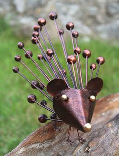 #Fairtrade Handmade Metal #Hedgehog
