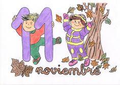 Activipeques: Meses del año: Noviembre