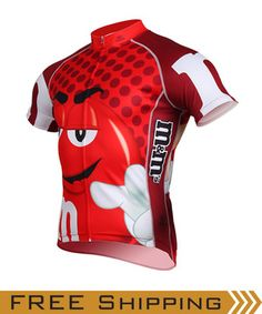 Brainstorm Gear is proud to introduce our new line of Officially Licensed M&Ms cycling jerseys! Wrap yourself in a colorful candy shell and stand out from the crowd. Whether you're smart, cool, funny or sexy; Just be yourself and have a sweet ride!  FOUR colors of M&Ms jerseys available - Red, Blue, Yellow and, just for the Ladies, Green!