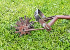 American Made Wheel Hoe Garden Cultivator Gardening Pinterest