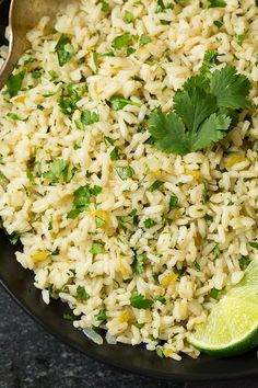 Cilantro Lime Rice | Cooking Classy