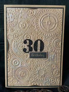30 Birthday Card Boyfriend Grusskarte for Him Anniversary Jubilee Eco Men Happy Birthday to you Handmade Clock Birthday Cards For Him, Birthday Cards For Boyfriend, Happy Birthday, Handmade Clocks, Handmade Gifts, Beautiful Birthday Cards, Masculine Cards, Greeting Cards Handmade, Paper Flowers