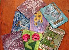 Emozioni in patchwork:  Ormai sapete tutte cos'è uno Swap, cartoline o me...