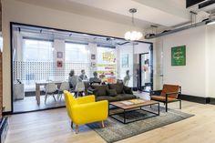 Ragged Edge's Cool London office