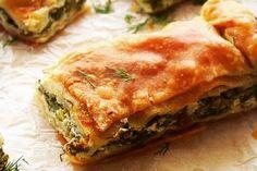 Ζαμπονοτυρόπιτα που κάνει θραύση!   Κουζίνα   Bostanistas.gr : Ιστορίες για να τρεφόμαστε διαφορετικά Spanakopita, Greek Recipes, Lasagna, Pizza, Tarts, Ethnic Recipes, Food, 3 Ingredient Cakes, Mince Pies