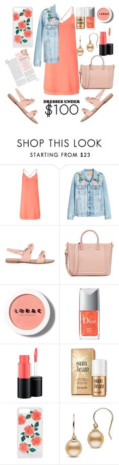 """Untitled #103"" by lubna-assad ❤ liked on Polyvore featuring Miss Selfridge, Sole Society, LORAC, MAC Cosmetics and Sonix"