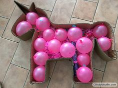 Faire une piñata de licorne - is my party and i cry if i want to - Anniversaire Barbie Birthday, Unicorn Birthday Parties, Diy Birthday, Diy Back To School, Little Pony Party, Rainbow Parties, Ballerina Party, Turtle Birthday, Baby Shower Parties
