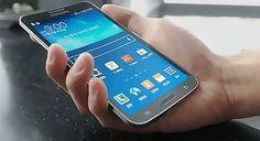 Esta es la pantalla de un Samsung Galaxy