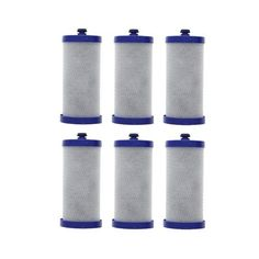 Replacement Water Filter Cartridge for Frigidaire Refrigerator FRS26LH5DS4 - (6 Pack)