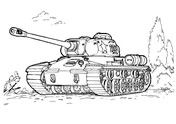 Is 3 Heavy Tank Coloring Page Coloring Pages Free Coloring Pages Color