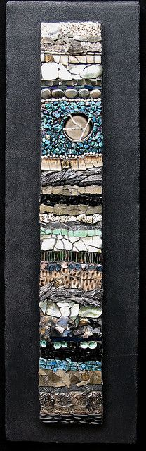 Mosaic art by Kath Jones Pebble Mosaic, Mosaic Wall Art, Stone Mosaic, Tile Art, Pebble Art, Mosaic Glass, Mosaic Tiles, Stained Glass, Glass Art