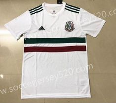 online store 19047 a2081 2018 World Cup Mexico Away White Thailand Soccer Jersey AAA  soccertips  Ronaldo Soccer, Adidas