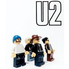 20 Bands as Legos By Adly Syairi Ramly: U2, Nirvana, Rolling Stones | Billboard
