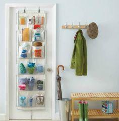 12 idee per ordinare gli oggetti sulle porte | Fai da te hobby | Scoop.it