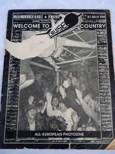 Punk Rock Vintage 1980s magazine collectible by PerfectlyGoodStuff, $30.00