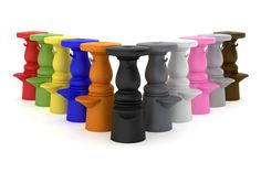 New Antiques Barstool by | Moooi.com