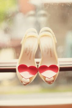 VIVIENNE WESTWOOD HEART SHOES | The Knotty Bride™ Wedding Blog + Wedding Vendor Guide