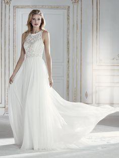 PAMELA vestido de novia vintage