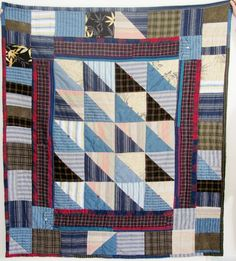 memory quilts from clothing | Dads Shirts Memory Quilt by Worthquilts on Etsy