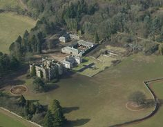 Ruperra Castle built in 1626 by Sir Thomas Morgan, located in Lower Machen, Wales.