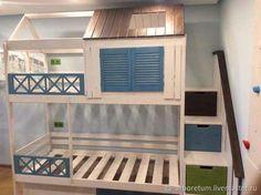 Bedroom kids girls design built ins 20 Ideas Kids Bedroom Designs, Kids Room Design, Bed Design, Bunk Beds Boys, Kid Beds, College Loft Beds, House Bunk Bed, Creative Kids Rooms, Bedroom Red