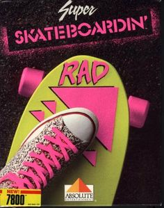 80's kids skateboarding | Totally '80s box art! | GamesRadar