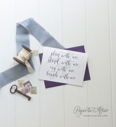 Cute Will You Be My Bridesmaid Cards  Be My Maid by PaperTieAffair