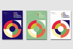 Bay Area Rainbow Simphony by Micael Butial #graphic design #print in Printed Materials