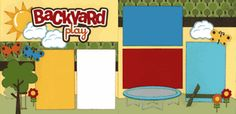 Backyard Play Boy Page Kit