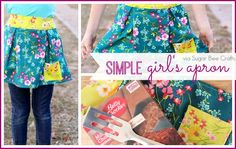 simple girl's apron