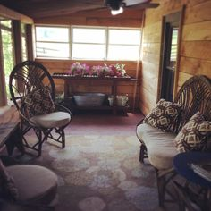 Imagine having great conversation with your friends and family on our back porch this summer!