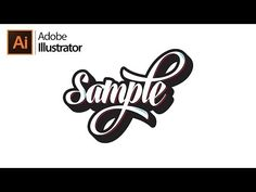 How To Make Cursive Typography in Illustrator (Revamp) - YouTube