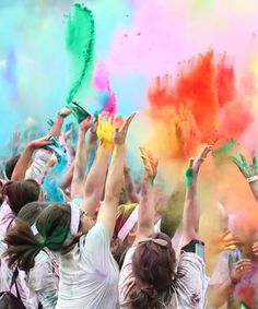Race for a Cause: Charity Fitness Events | Women's Health Magazine--doing the color run 2013 for sure!