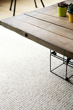 DIY : un grand tapis pour moins de 100€