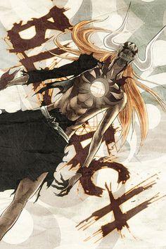 Bleach. One of Ichigo's cooler moments.