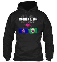 Mother Son - Kansas Washington #Kansas-Washington