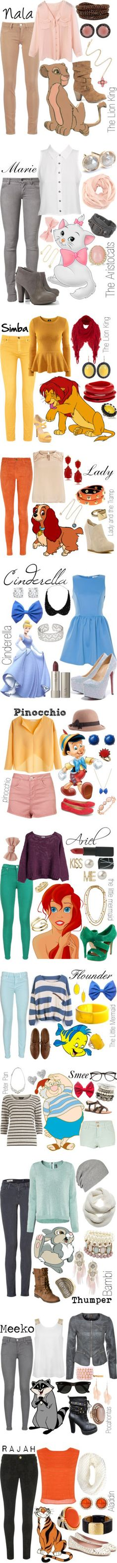 """✦Disney Inspired Looks✦"" by koolkid4ever ❤ liked on Polyvore"