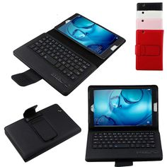 34.00$  Know more - http://aiimm.worlditems.win/all/product.php?id=32801212892 - Removable Wireless Bluetooth Keyboard Case for Huawei MediaPad M3 8.0 8.4 inch Tablet PU Leather Smart Folio Cover + ABS Keypad
